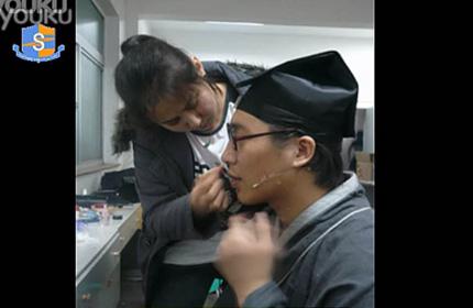 卓尚化妆学校学员担任话剧一汽佳宝欢乐中国行四城市巡展全程化妆及造型