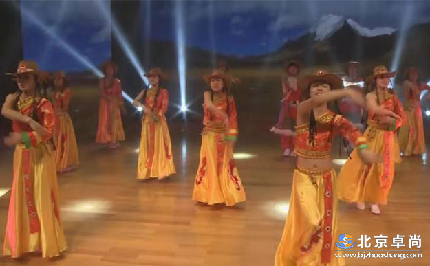 北医三院藏族舞蹈表演