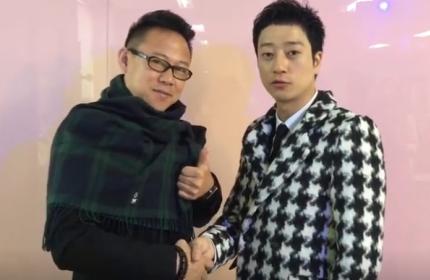 韩国男星为北京卓尚化妆学校送上祝福