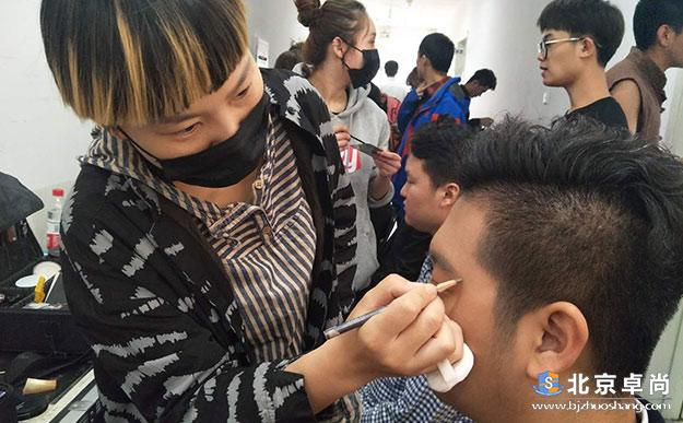 北京卓尚《茅以升》北京站化妆幕后