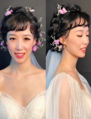 实用新娘鲜花造型NO.2