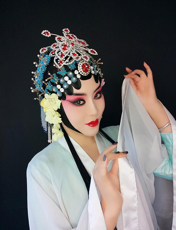 青衣妆面造型作品2