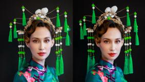 造型解析:时尚复古中国风造型
