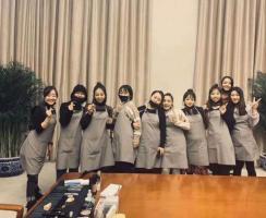 北京卓尚为天津中建一局提供化妆技术支持