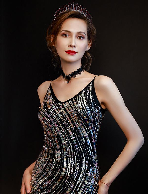 时尚女王靓丽造型